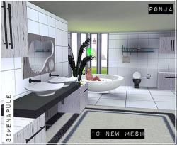 Bath Oleander Set