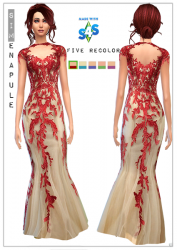 redflowerdress