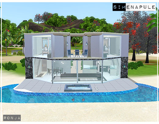 The sims 3 house update for Pool design sims 3
