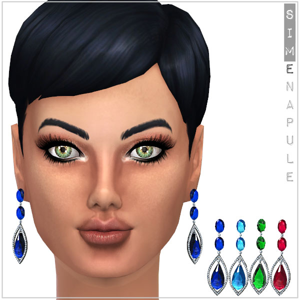 sims 4 earrings