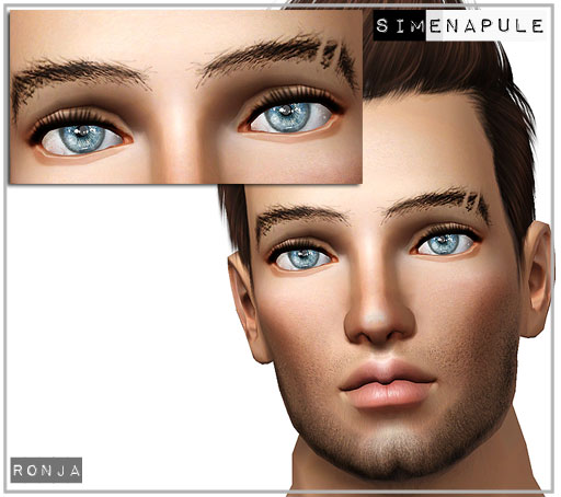 Cut Line Through Eyebrow